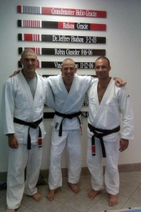 Three Black Belts