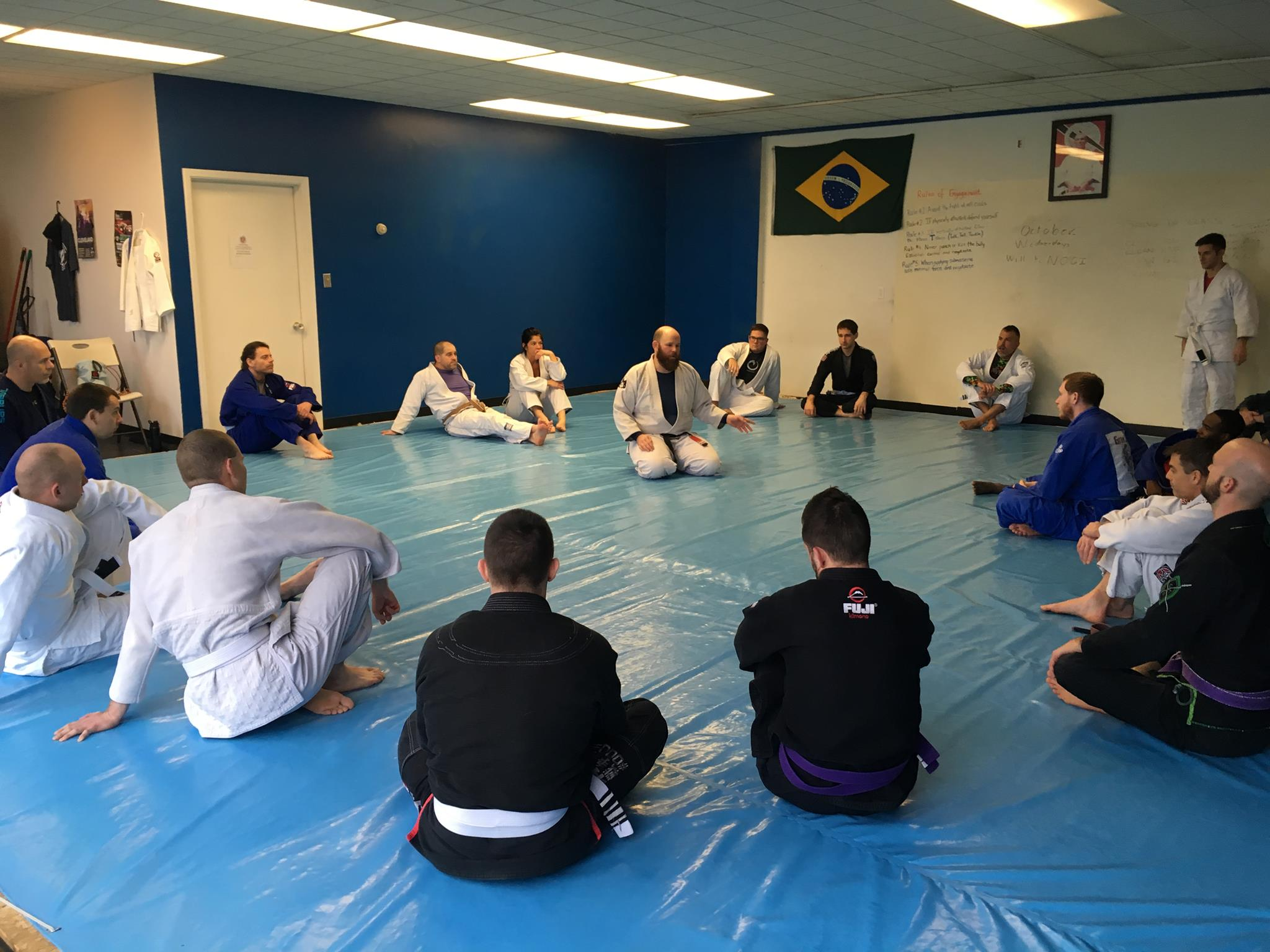 Dave Tabron Teaches Gracie Jiu-Jitsu